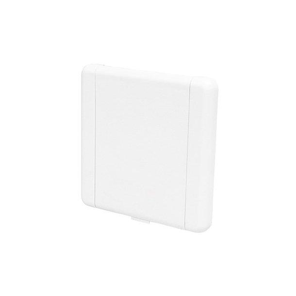 Sugekontakt i hvid (kvadratisk)