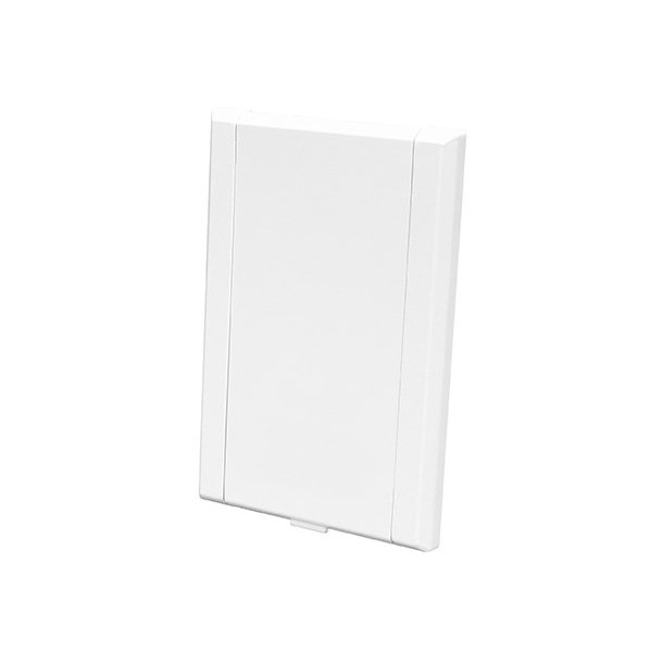 Sugekontakt i hvid (rektangulær)
